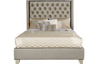 Queen Bed Frame Styles: Platform, Sleigh & Canopy Queen Beds $400