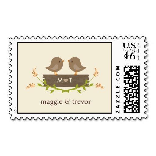 Sweet Love Custom Postage Stamp