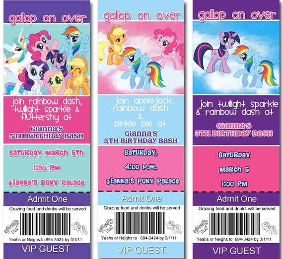 319 Best My Little Pony Birthday Party Images On Pinterest