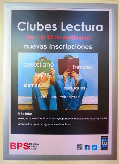 CARTAZ DE BIBLIOTECA: SEVILHA - ESPANHA ~ Caçadores de Bibliotecas