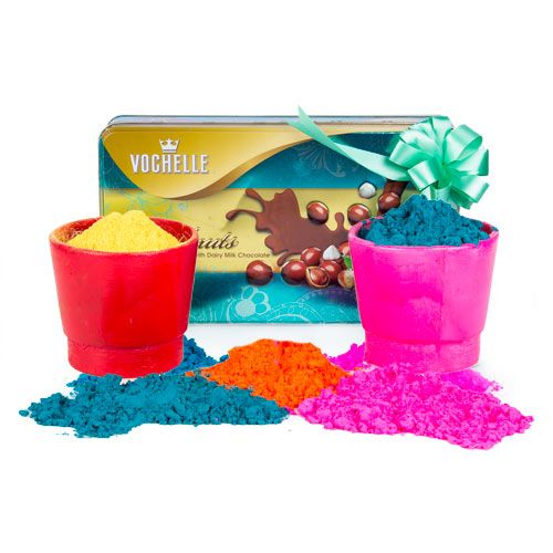 Holy is a festival of color and love, so whatever be your idea for a Holi gift keep away from things of practical every day use and find something that is charming and befits your love and emotions. You can buy holi gifts from Ferns N Petals online.