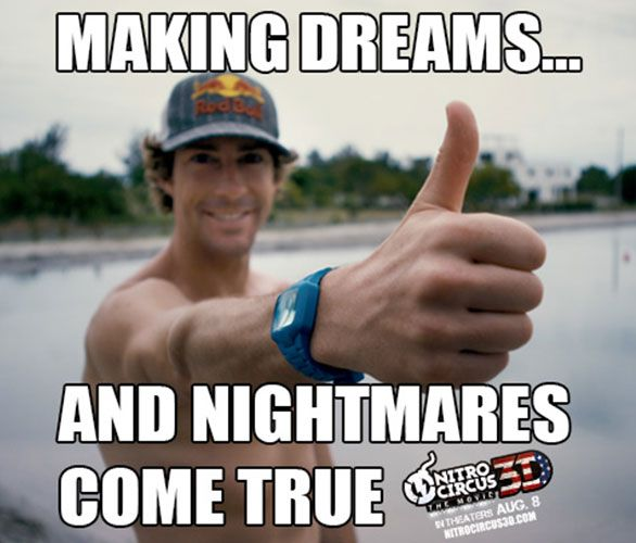 Nitro Circus.  Making dreams and nightmares come true.  Mostly nightmares...