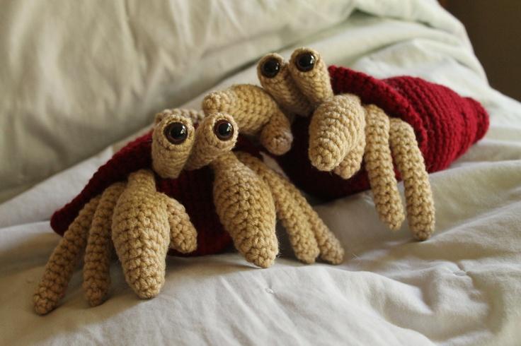 Amigurumi Hermit Crab : 17 Best images about Crochet/ Amigurumi on Pinterest ...