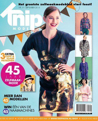 Cover Knipmode september 2014