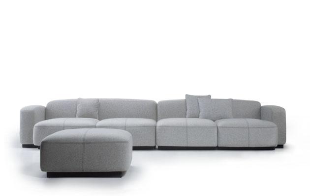 İspanyol Uno Design'a ait COLA kanepe ve koltuk takımı Neotek'te!