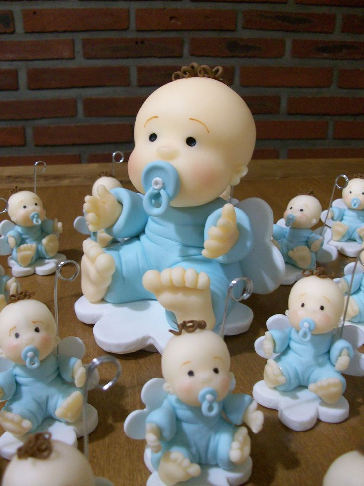 Angel babies for cake