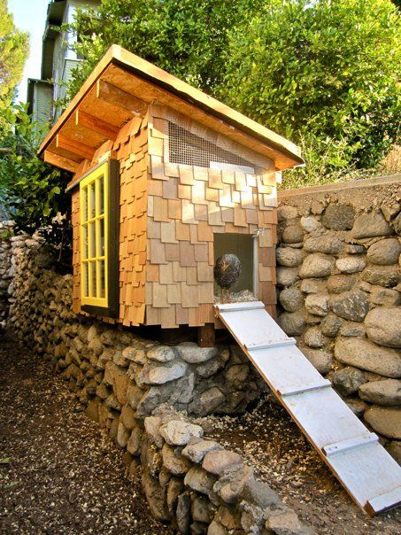 92 Best Images About Chicken Coop Ideas On Pinterest Gardens The Chicken And A Chicken
