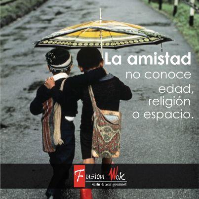 La amistad no concoe edad, religión o espacio.  #felicidad #happy #fusionwok #calico #cali #colombia #frases #children  #life #love #amistad #friends