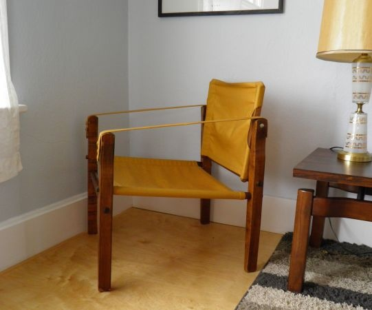 Wood + Canvas Sling Chair - $79 in Englewood | Chair ...