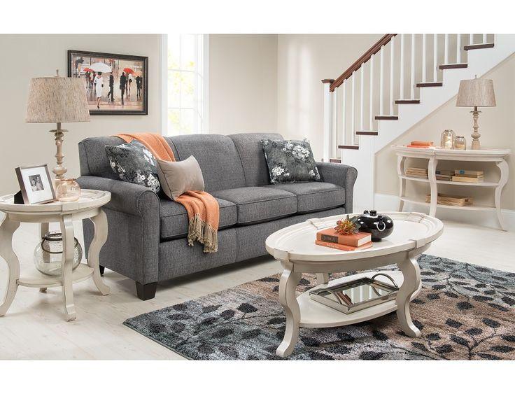Slumberland   York Collection   Granite Sofa. Living Room FurnitureAll ...