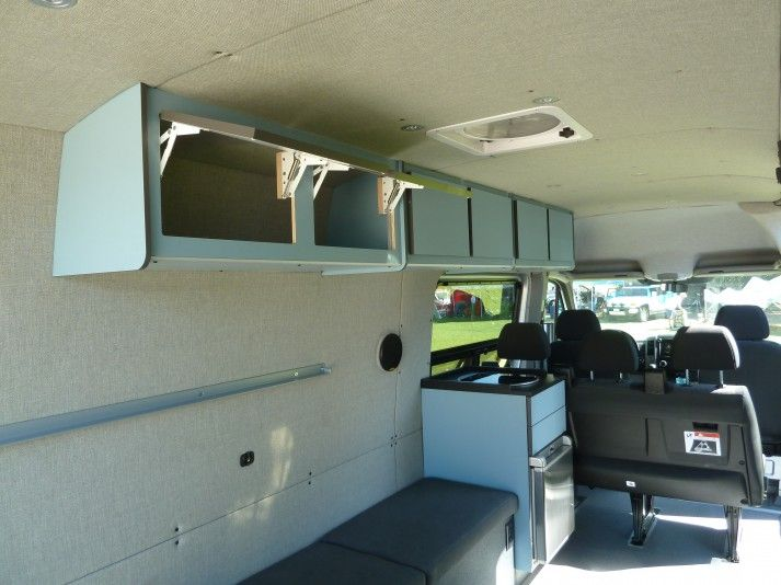 401 Best Images About Camper Sprinter Van Cargo Trailer Conversion On Pinterest