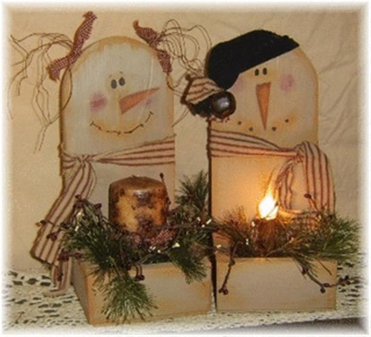Primitive Crafts: 17 Best Images About Snowman On Pinterest