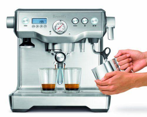 Breville BES920XL Dual Boiler Espresso Machine - http://coffeecenter.org/breville-bes920xl-dual-boiler-espresso-machine/