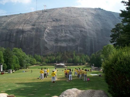 Natural Landmarks In Georgia Stone