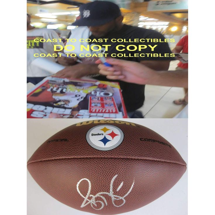 Jerome Bettis, Pittsburgh Steelers, Signed, Autographed, NFL Logo Football, a COA with the Proof Photo of Jerome Signing Will Be Included with the Football