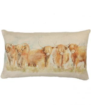Highland Cows! http://www.justfabrics.co.uk/cushions-throws/regular-cushions/highland-cattle/