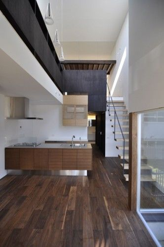 E House | Okazaki, Aichi Prefecture, Japan | Design: Akinori Yoshimura+Maki Yoshimura/D.I.G Architects