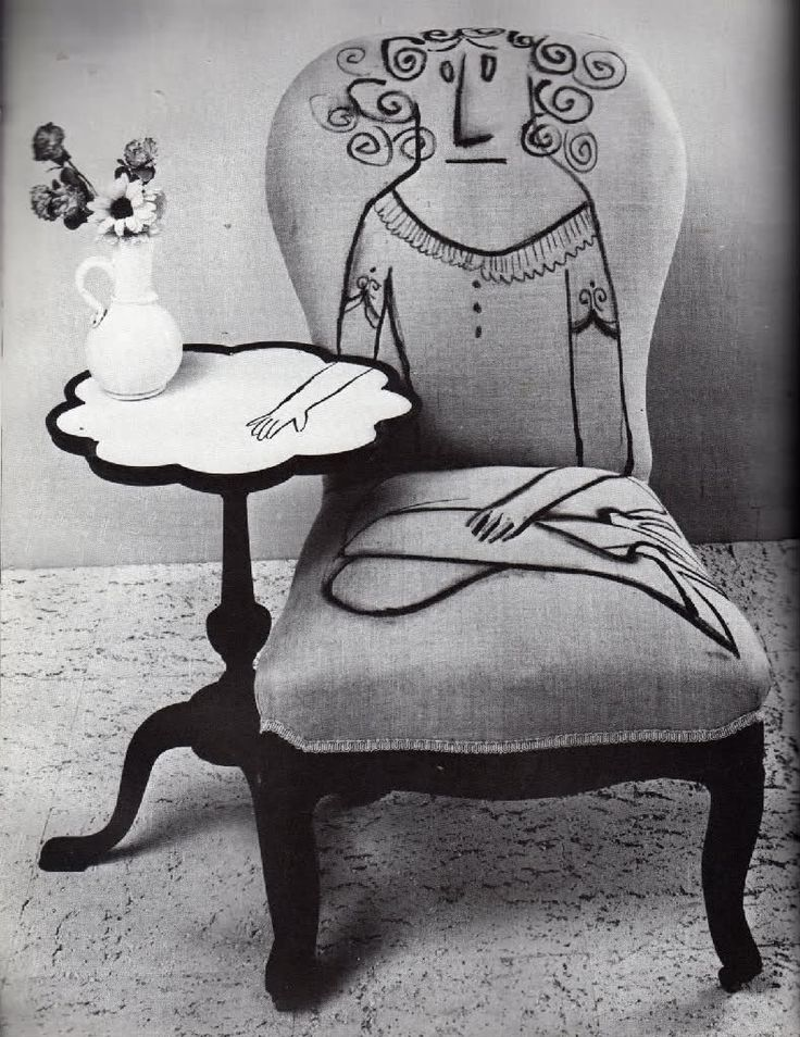 firstroom:    That ain't no Picasso, that's a Saul Steinberg.