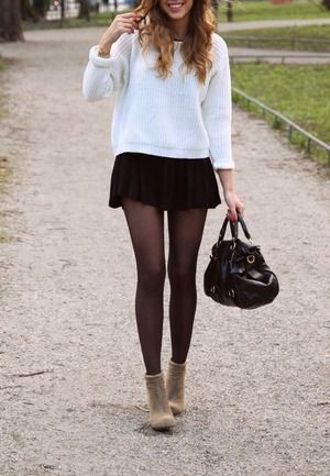 Skater skirt outfits | Beautylish