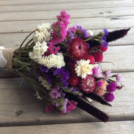 how to make dried flower pictures
