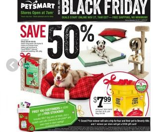 Be one of the 1st 100 customers at PetSmart #BlackFriday and get a freebie-stuffed pet stocking for FREE