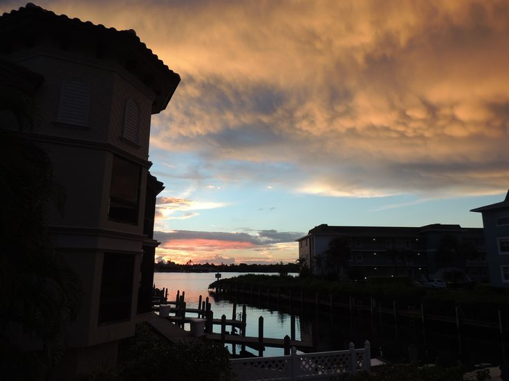 Just one beautiful #sunset after another! We are loving our new home in Naples! Call us if you are ready to make #NaplesFl your home, too! 239-370-0574 Selling the Naples lifestyle since 1981!