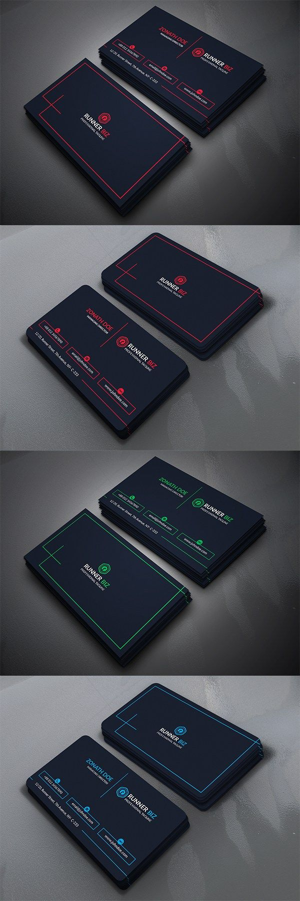 1038 Best Business Cards Design S And Logos Images On Pinterest