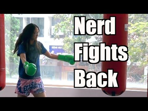 Muay Thai Champion Pretends To Be Nerdy Girl With No Skill, Hustles A Few Trainers Then Proceeds To Bash Them!   Shock Mansion