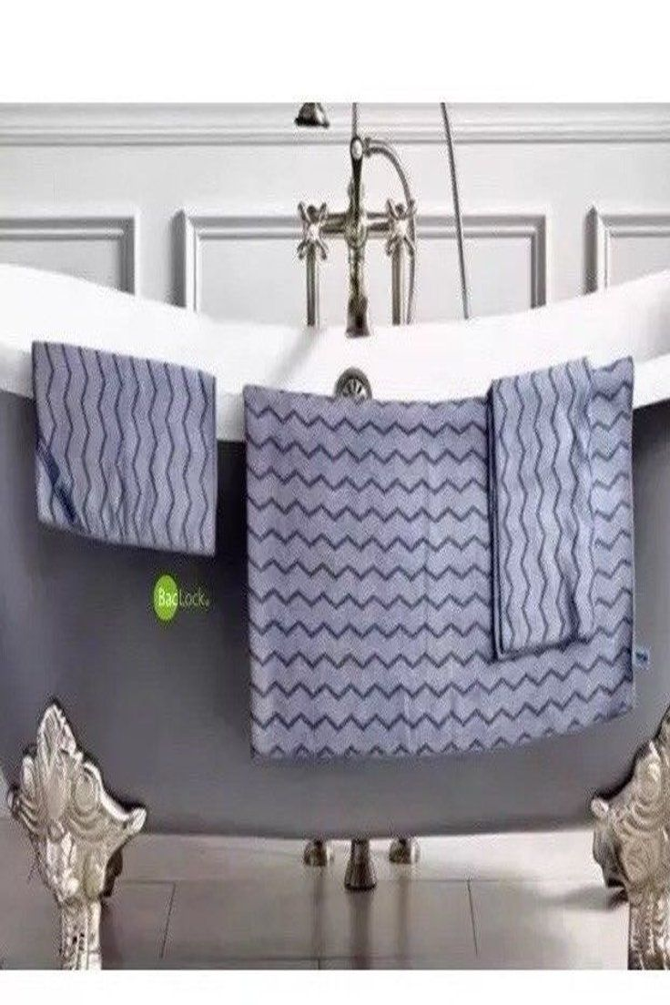 60 00 Norwex Chevron Bath Set Bath Towel Hand Towel Body