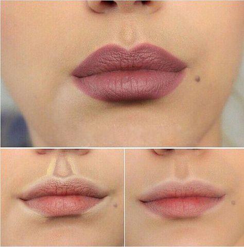 Contorno de definição para os lábios :)