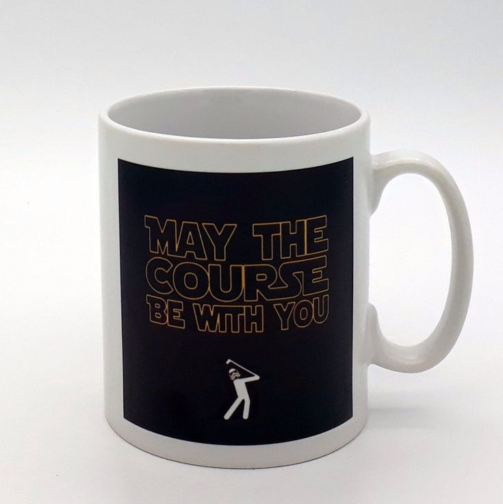 The mug measures 9cm in height and 8cm in diameter and holds approximately 330ml (i.e. a standard 11oz mug). The design is repeated on both sides.