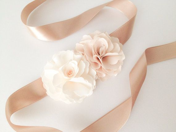 Double Ruffle Champagne with CREAM IVORY silky door sevenpeony