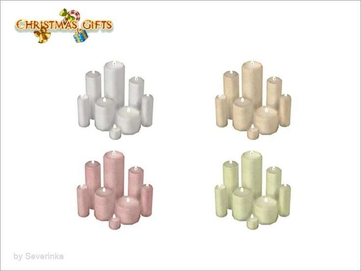 8 large candles  Found in TSR Category 'Sims 4 Table Lamps'