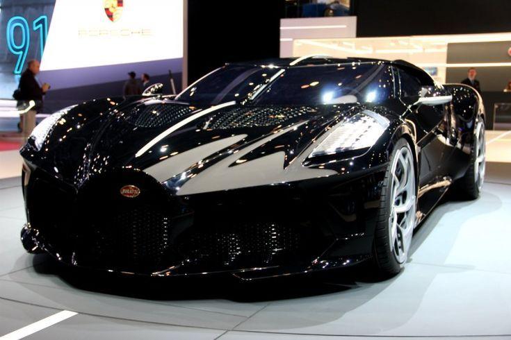 The Black Car: the new unique Bugatti gem – [ CARS ] /// #Car#Porn