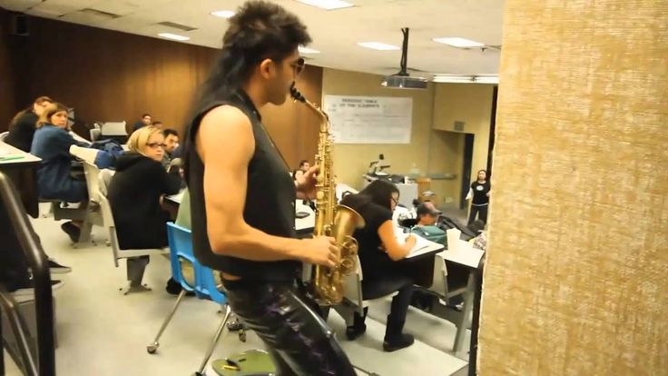 Sexy Sax Man Careless Whisper Prank feat. Sergio Flores (directors cut). Flashback Friday oldie but goodie!