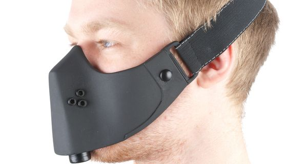 Samsonite breathing Mask by Bradly Hood, via Behance  Kinda cool for airsoft mouth protection...if it were REAL.