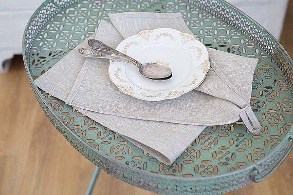 Natural Linen Towel Linen tea towel Kitchen linen towel