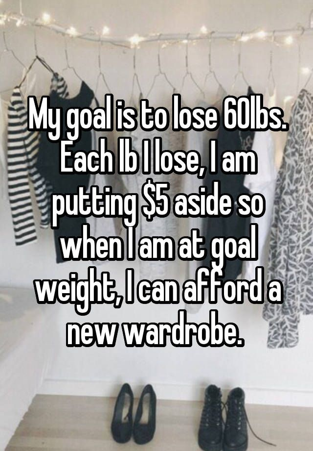 I lost 100 pounds I should have done that