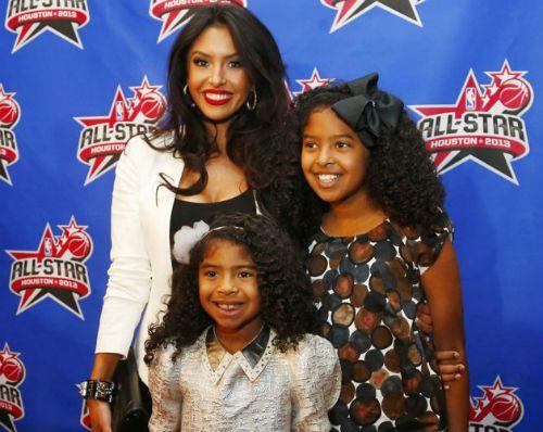 Vanessa Bryant and Natalia and GIanna