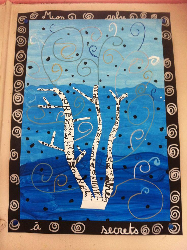 Arbres en art visuels CP et CE1 - Véro à l'école