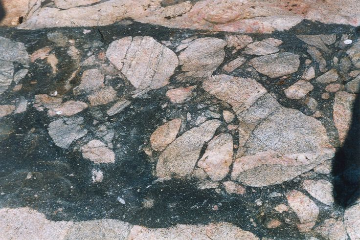 South Africa: Melt rock from the Vredefort impact site