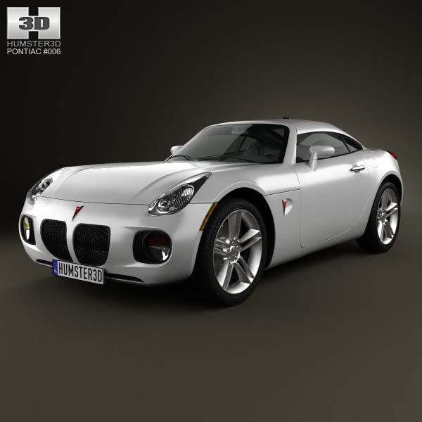 Pontiac Solstice Coupe 2009 3d model from humster3d.com. Price: $75