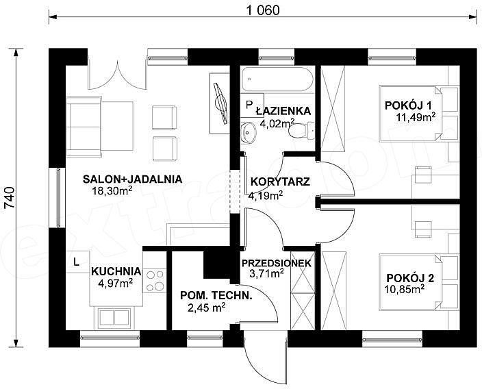 Projekt Domu W23