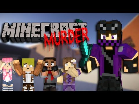 Minecraft YANDERE MURDER - ONE SHOT ONE KILL w/ THE SQUUUUAAAAD - YouTube