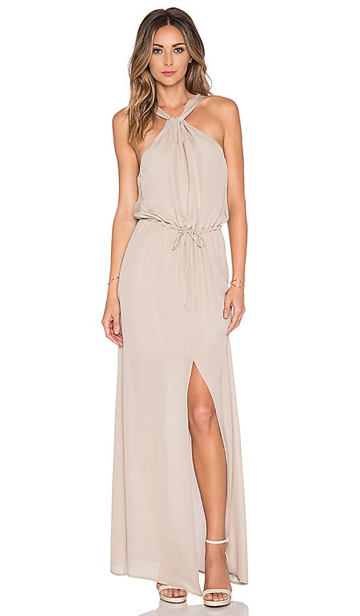 Neutral maxi dress neutral maxi dresses maxi dresses for Beach dress for wedding guest