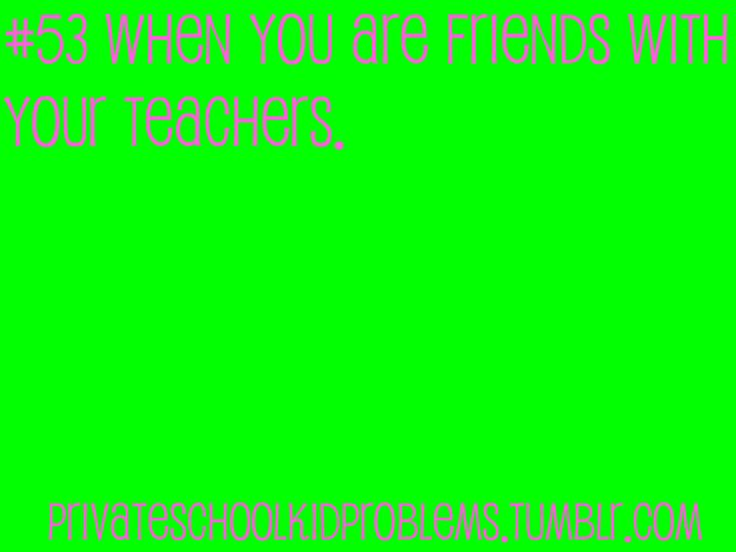 Private School Kid Problems