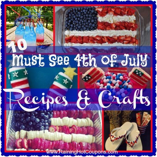 fourth of july food and wine