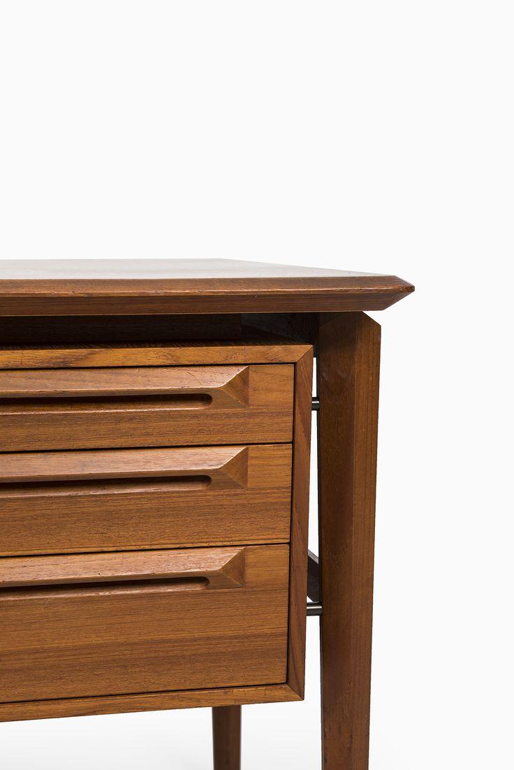 Ib Kofod-Larsen desk in teak by Seffle at Studio Schalling