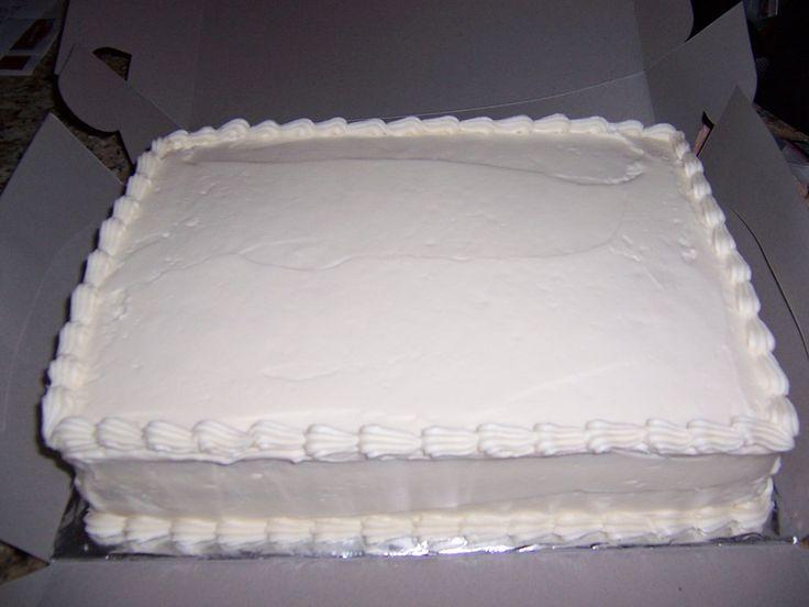 White Sheet Cake  Beus Wedding  Costco birthday cakes White sheet cakes Wedding sheet cakes
