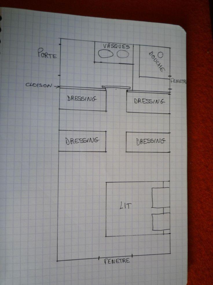 r sultat de recherche d 39 images pour plan suite parentale. Black Bedroom Furniture Sets. Home Design Ideas